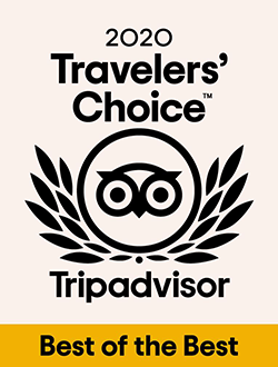 Tripadvisor Travelers' Choice 2020 - Best of the Best